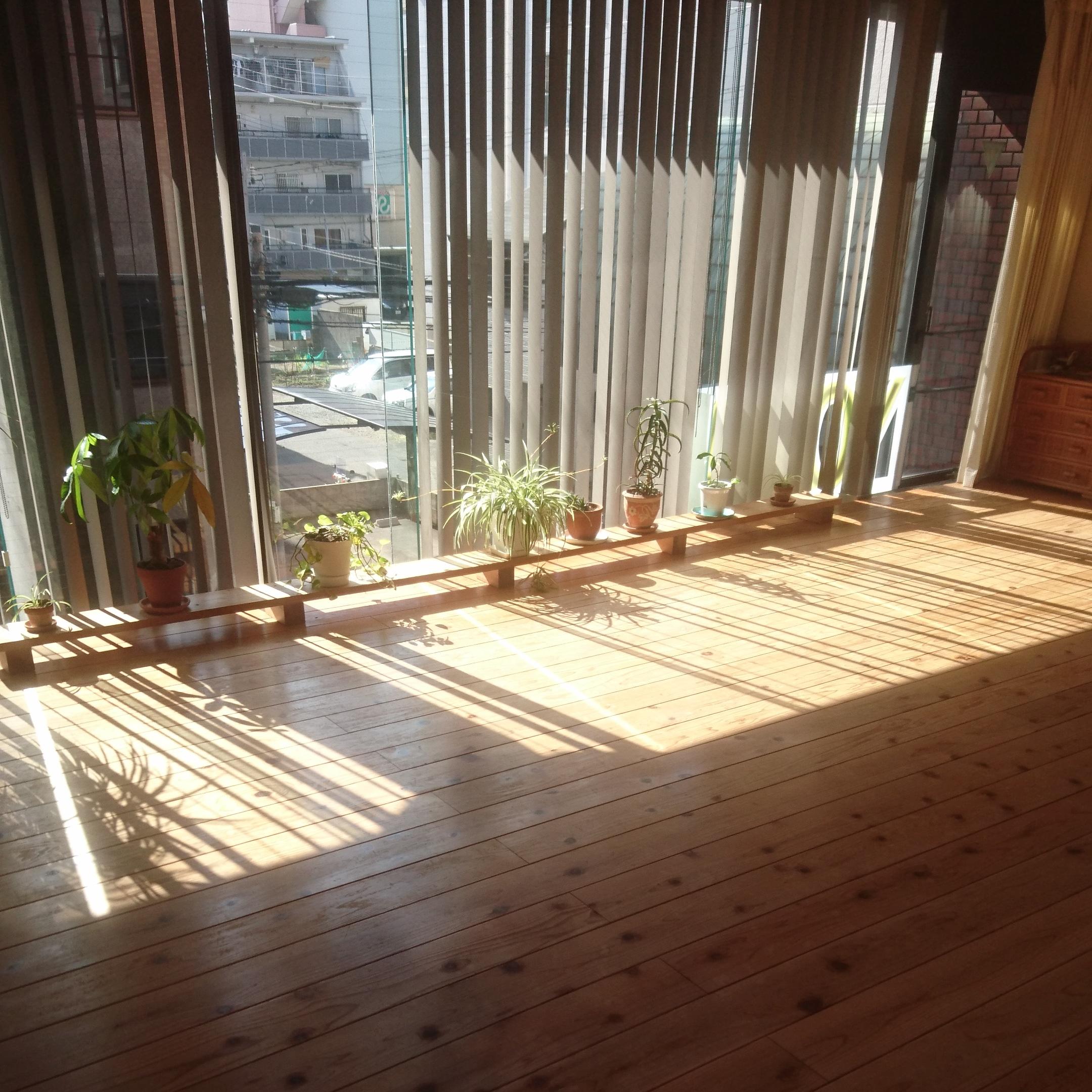 朝のスタジオ楽の森