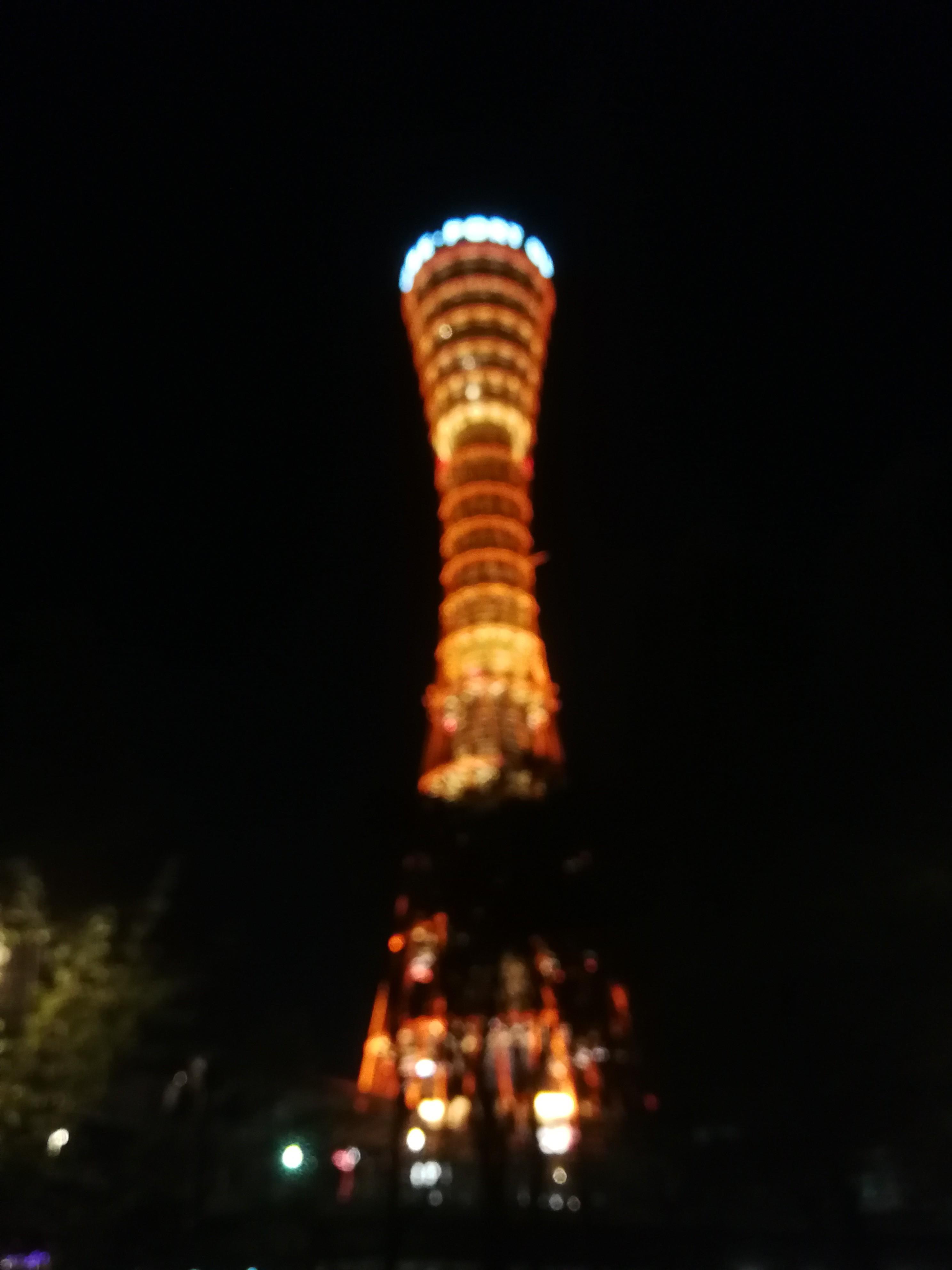 だいすきなポートタワー。