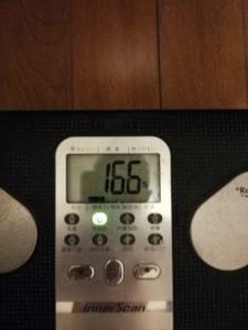 体脂肪率~