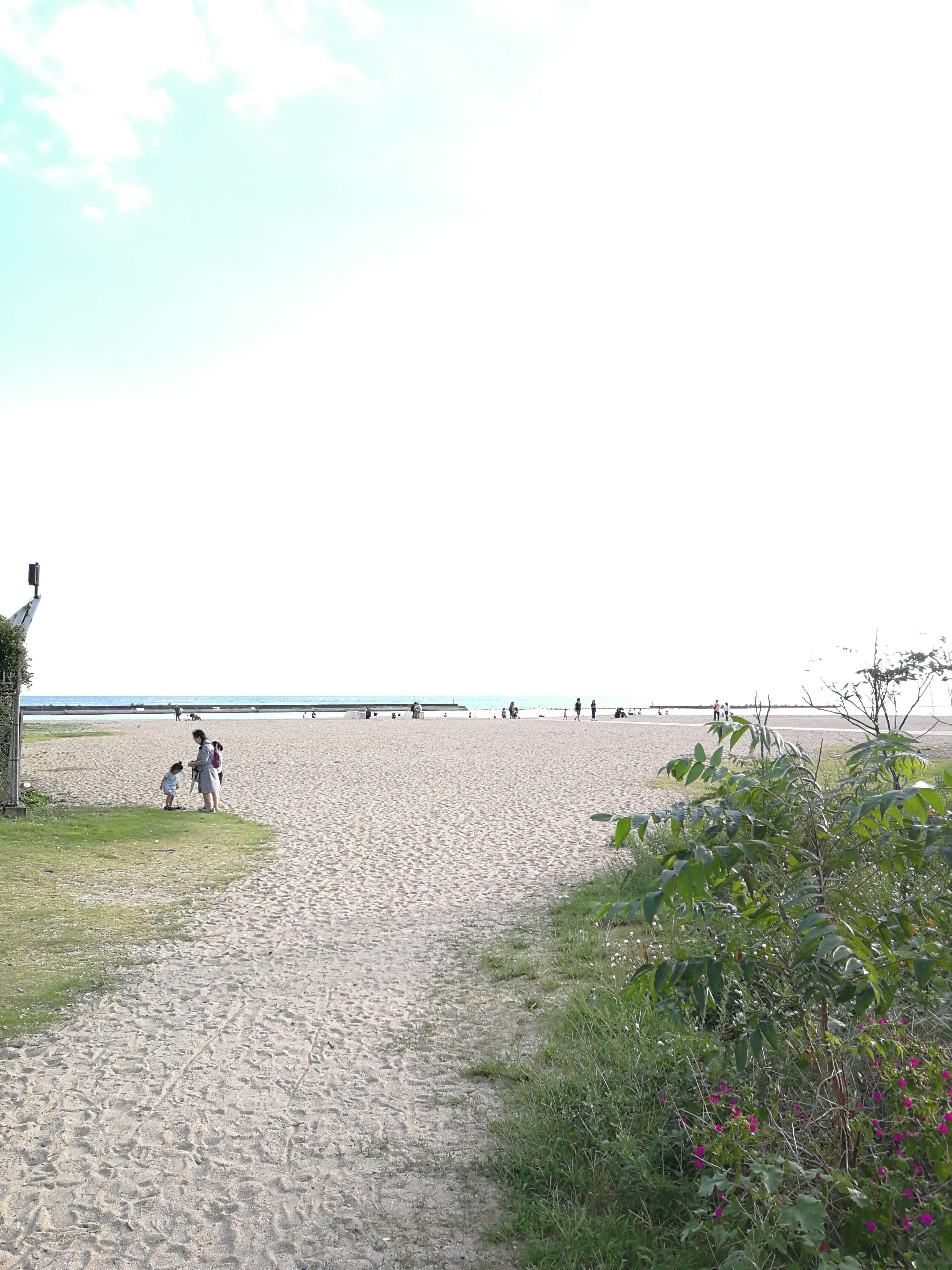 海浜公園側からのいりぐち。